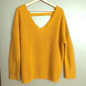 Mustard oversized sweater